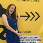 Liz Raad speaking at Pause Fest Digital Business Conference Melbourne 2019