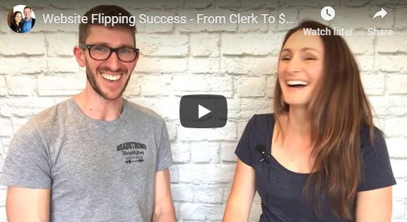 Website Flipping Success interview Liz Raad