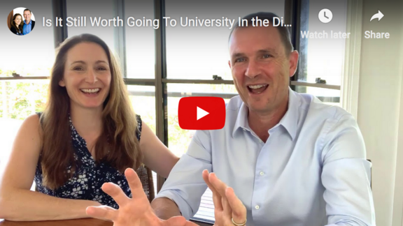 Is University Worth it, Matt Raad, Liz Raad