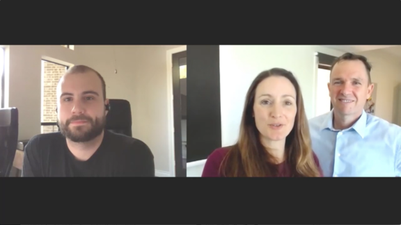 Passive website for sale with Matt and Liz Raad and Empire Flippers