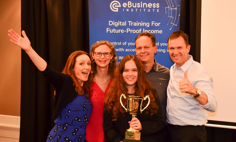 Parramatta Web Design awarded at Digital Training Conference