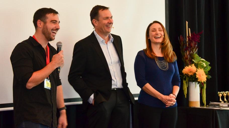 Chris Dinham speaks at Digital Profits Summit with Matt and Liz Raad