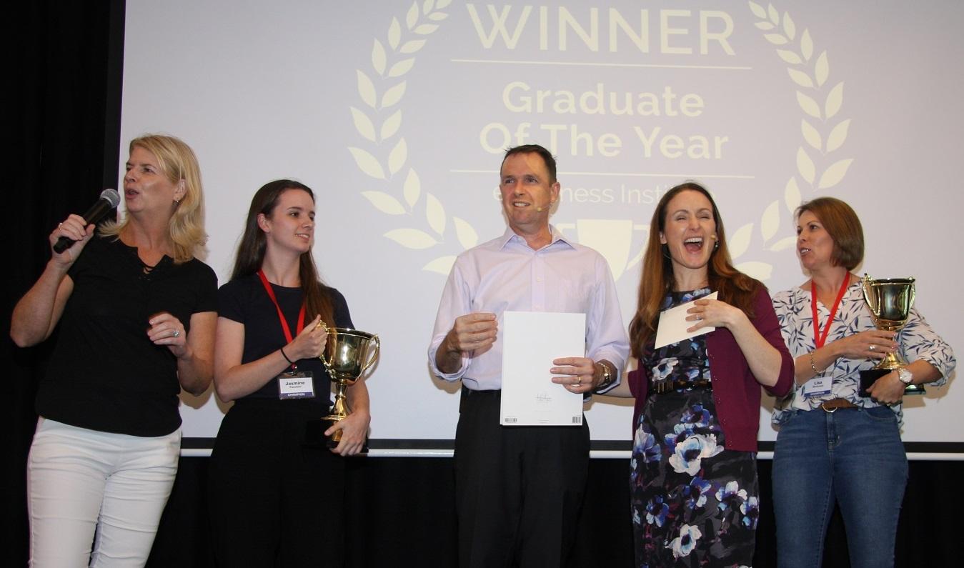 Graduates Of The Year awarded at Digital Profits Summit