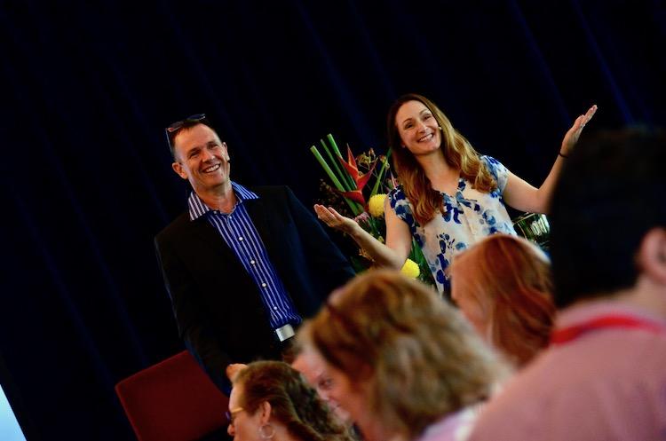Matt and Liz Raad teaching ebusiness online entrepreneurship courses