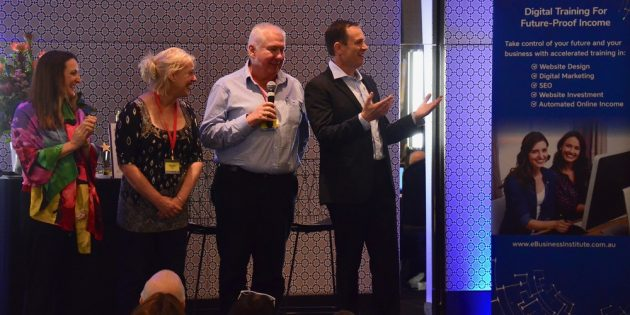 Kath and Rob Rushford speak at eBusiness Institute digital marketing conference
