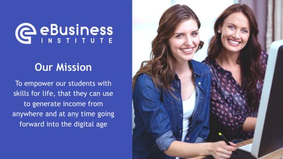 E-Business Institute Mission Statement: Best online website development courses