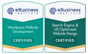 E-Business Institute online web design qualifications